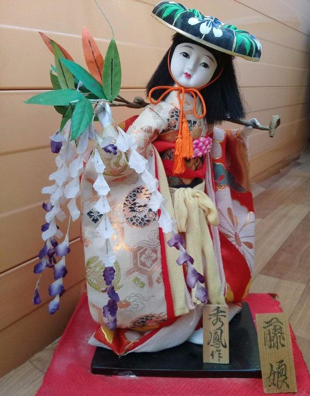 Японская кукла из Невельского музея - alek48s