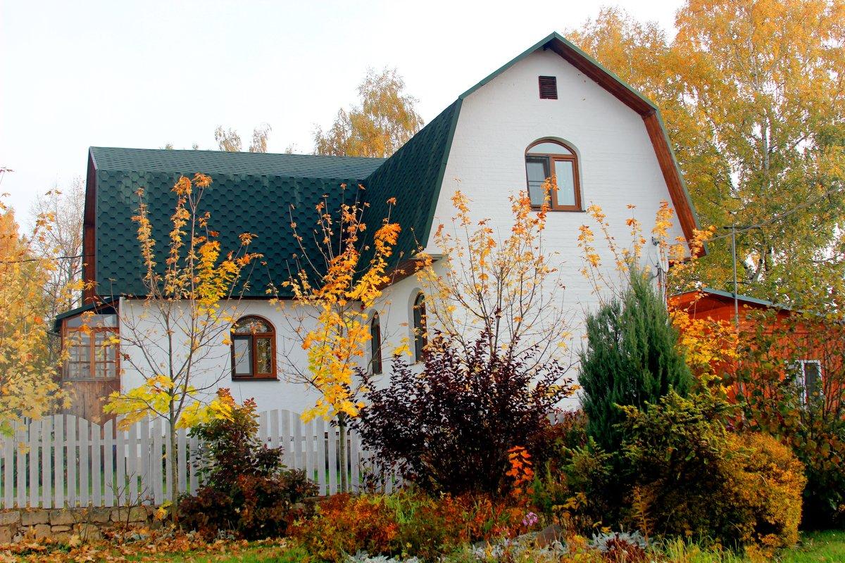 осень в деревне - Дмитрий Солоненко