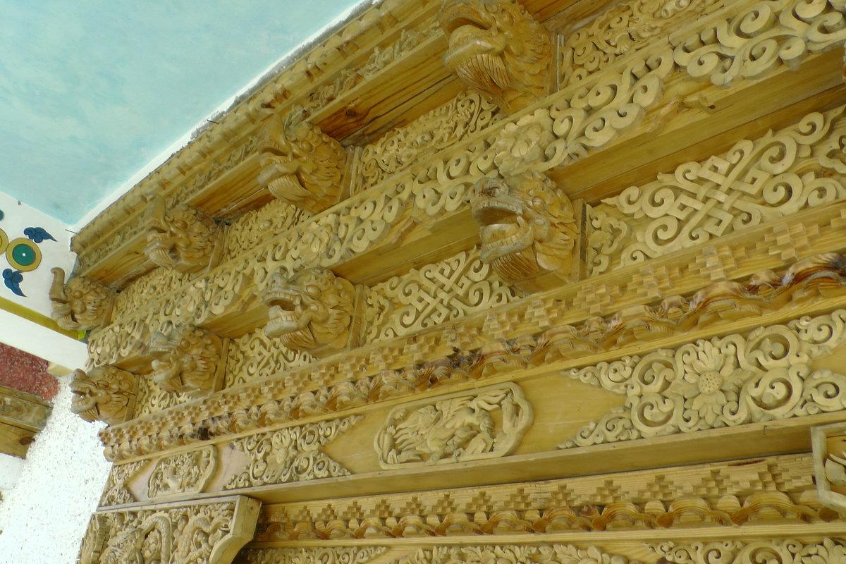 Строящийся тибетский храм - Evgeni Pa