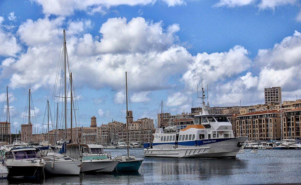 В марсельском порту