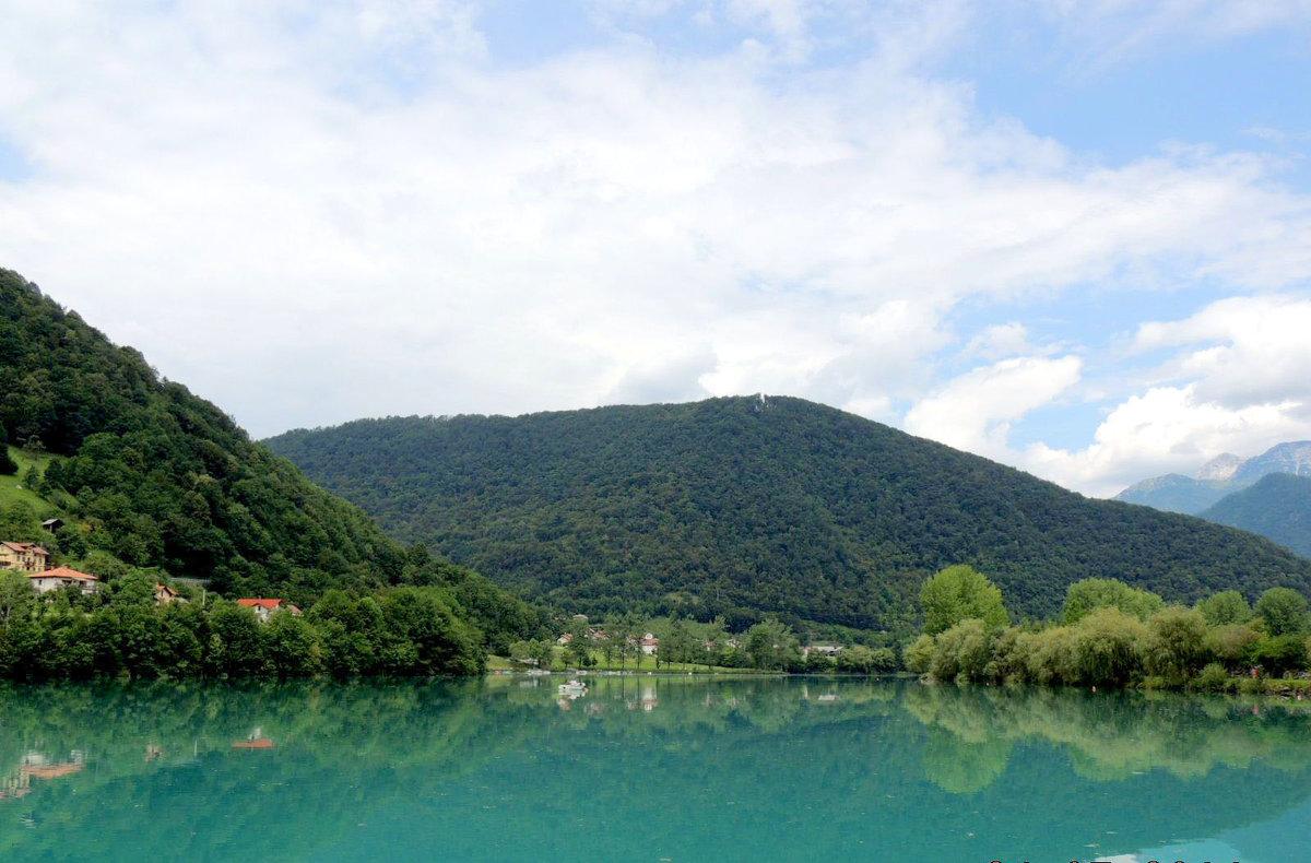 река Соча.Словения - Гала