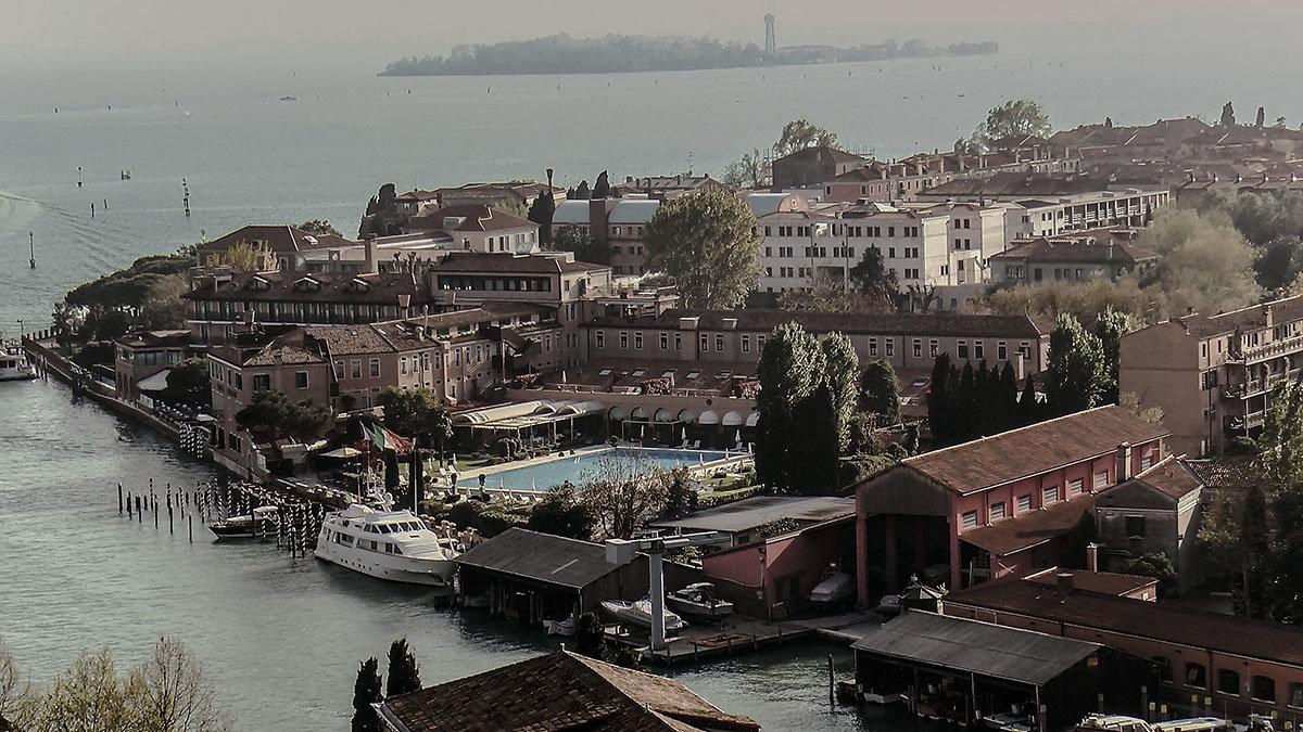 Venezia. Isola Di San Giorgio Maggiore. La parte sud-orientale. - Игорь Олегович Кравченко