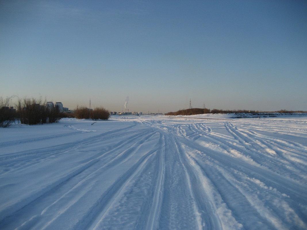Снегоходы порезвились - Anna Ivanova