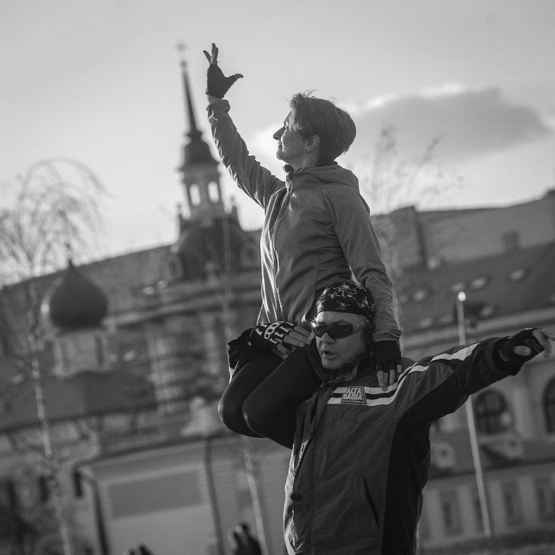 Тренировка на открытом воздухе. - Николай Галкин
