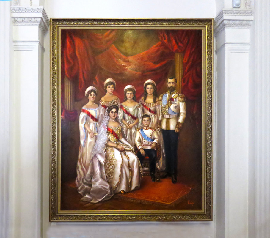 """""""Портрет царской семьи"""" - ИРЭН@ ."""