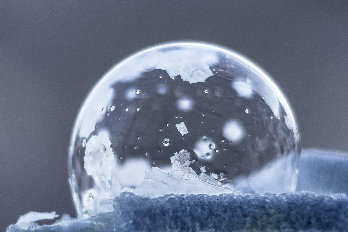 Мороз и мыльные пузыри - Елена Баландина