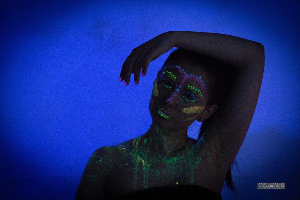 Фотосъемка в фотолюминесцентнтном свечении - Евгений Третьяков