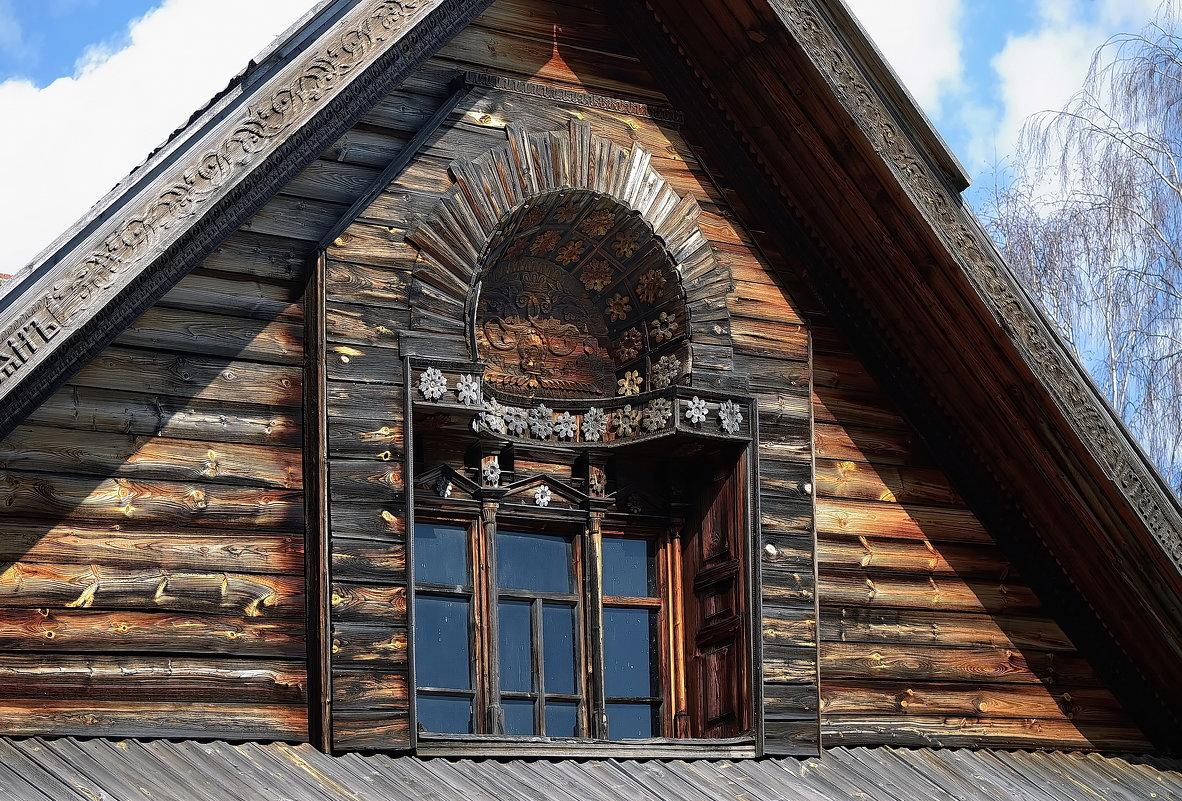 Фрагменты декора фасадов...Костромская Слобода... - leonid
