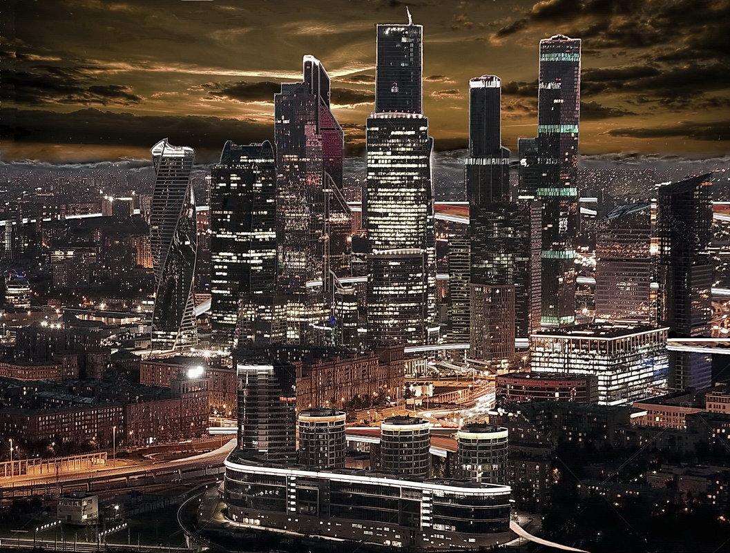 Москва City - irina Schwarzer