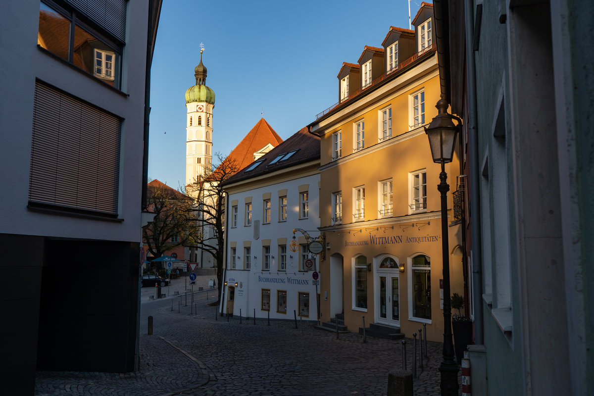 Старый район города Дахау - Eugen Pracht