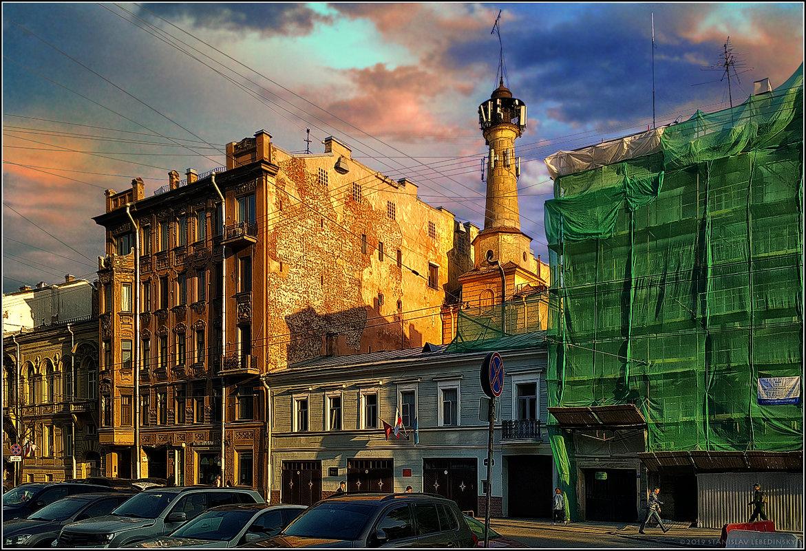 My magic Petersburg_03322 ул. Чайковского_Пожарная часть. - Станислав Лебединский