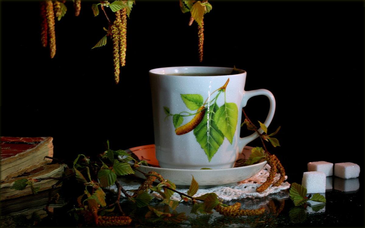 Весенний  чай - Нэля Лысенко