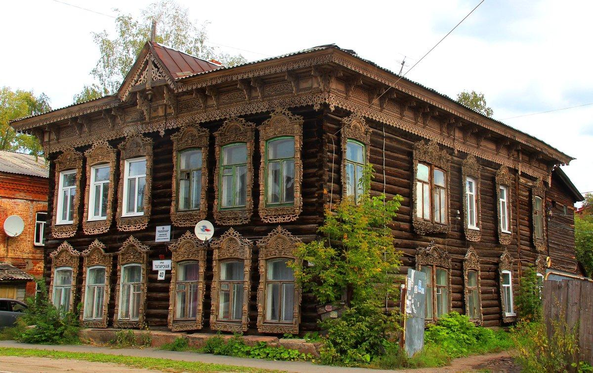Томск. Деревянное кружево
