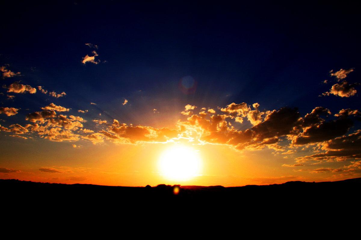 Последний шар света солнца! - Штрек Надежда