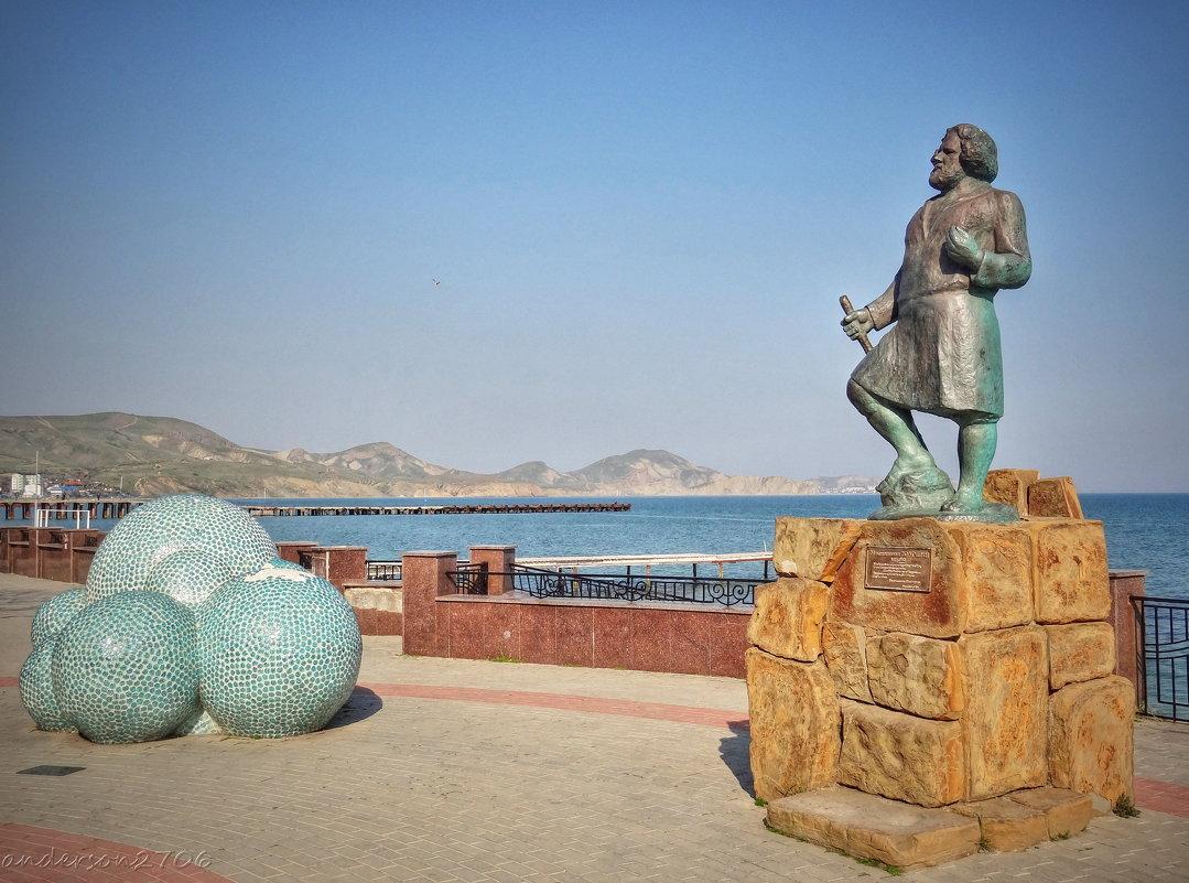 Памятник М. Волошину - anderson2706