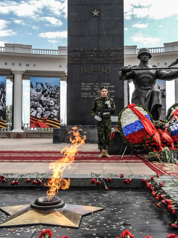 юноша у Вечного огня - Юлия Денискина