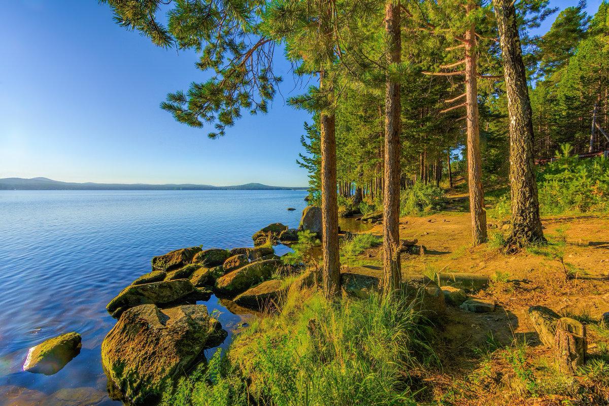 Берег озера Таватуй - Vladimbormotov