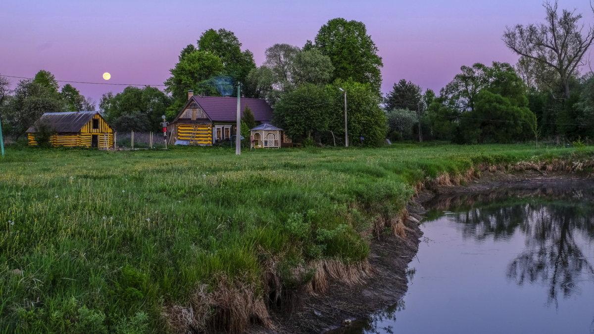 закат в деревни - Георгий А