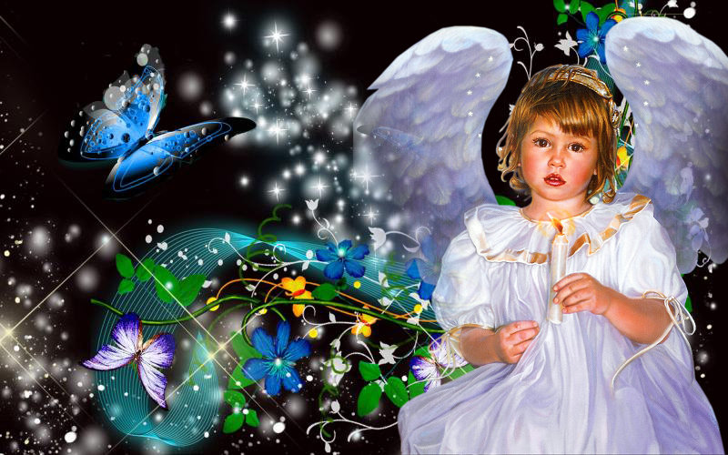 Ребёнок ангел - Сергей
