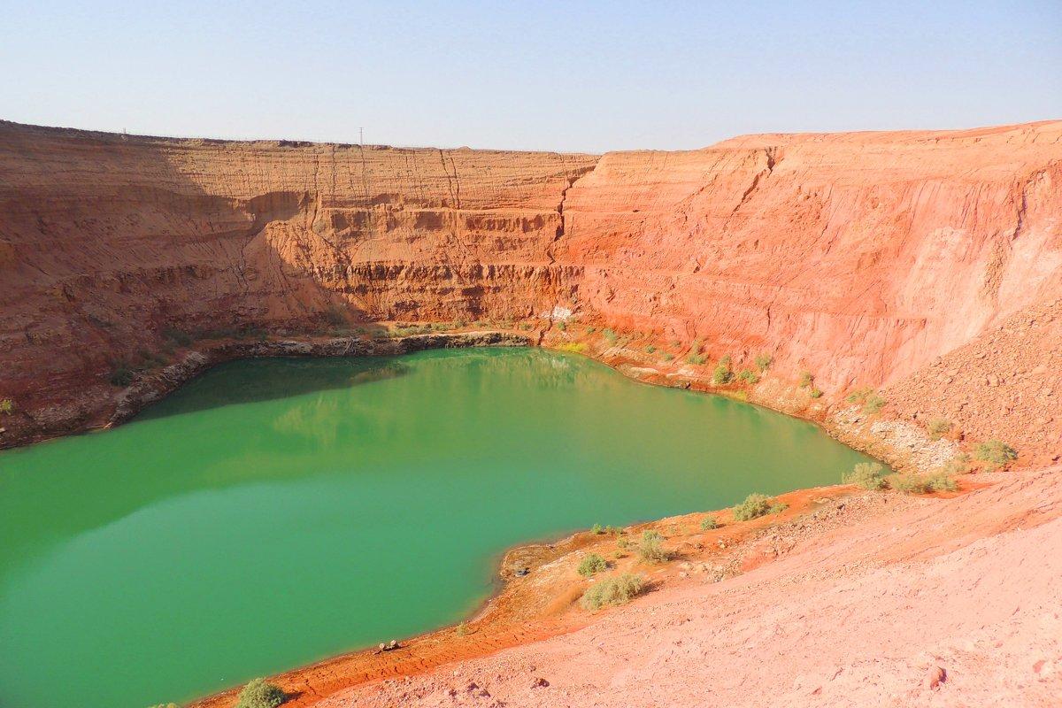 Исчезающее озеро - Гала