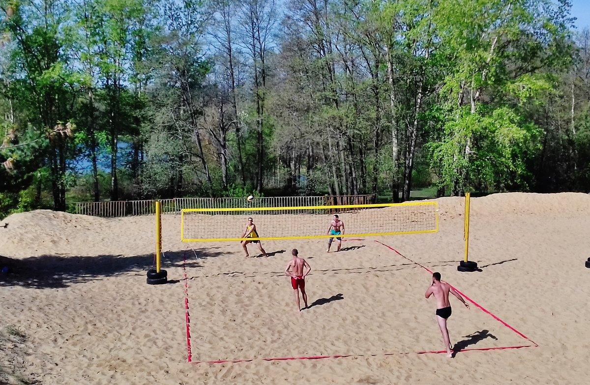 пляжный волейбол - Владимир