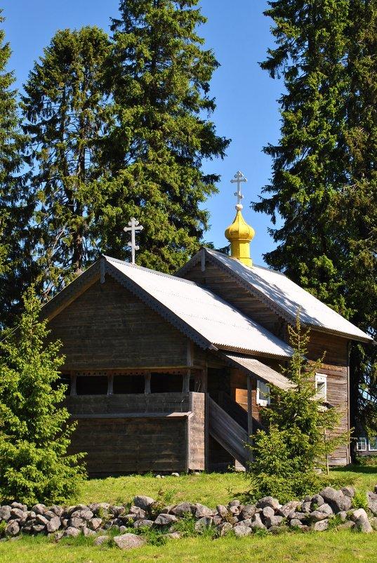часовня Смоленской Богоматери в деревне Кинерме - Антонина Мустонен