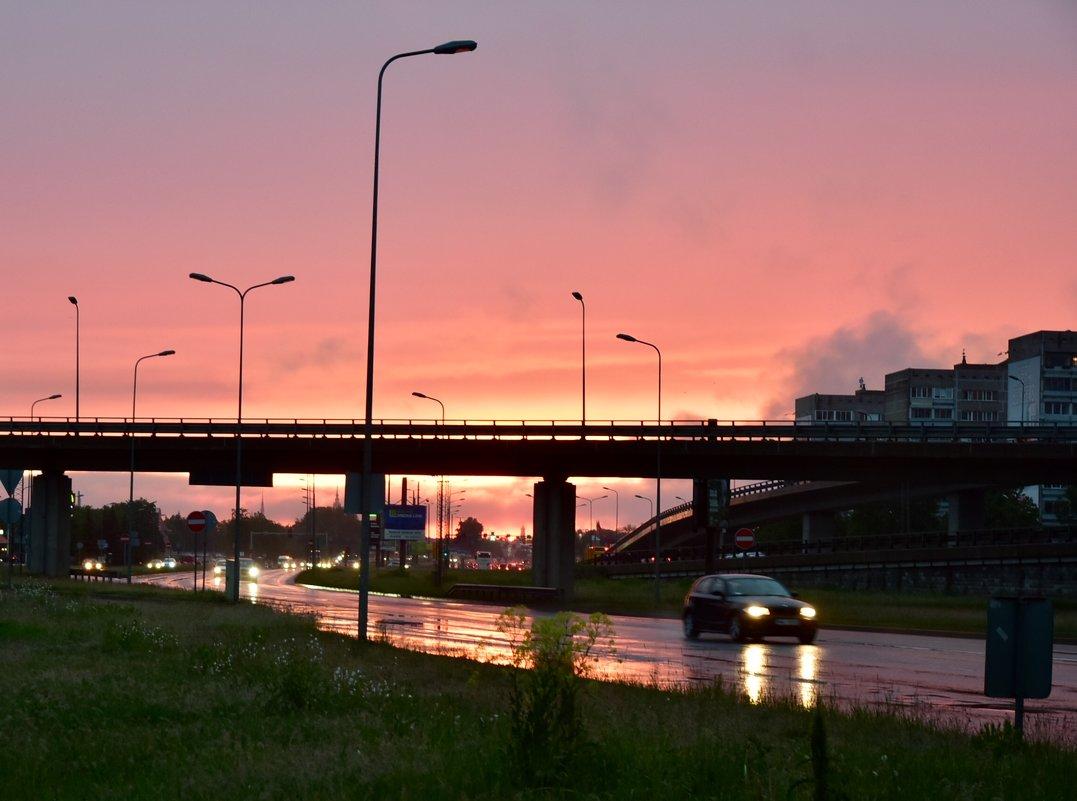 Городской закат - Teresa Valaine