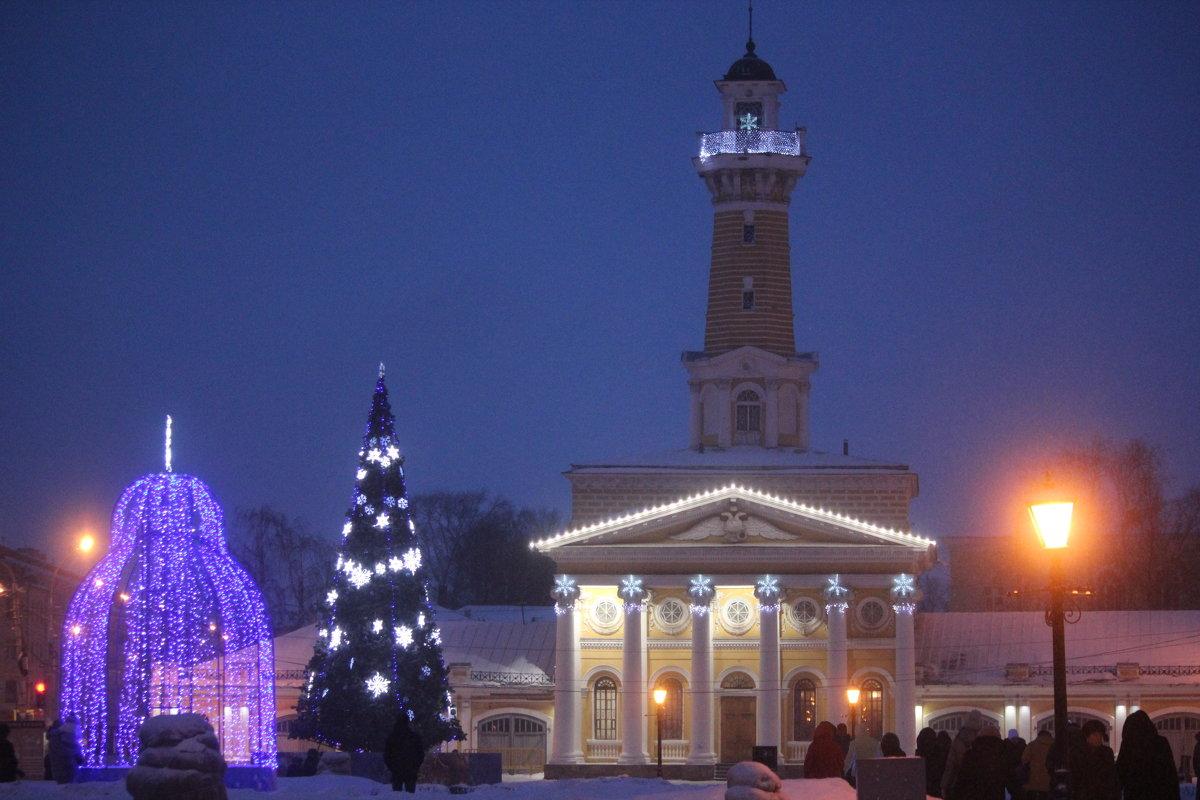 Кострома зимой - Елена Верховская