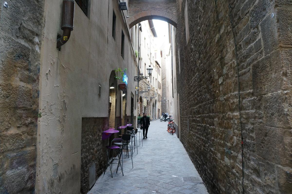 Городские кафе.... Флоренция - Алёна Савина