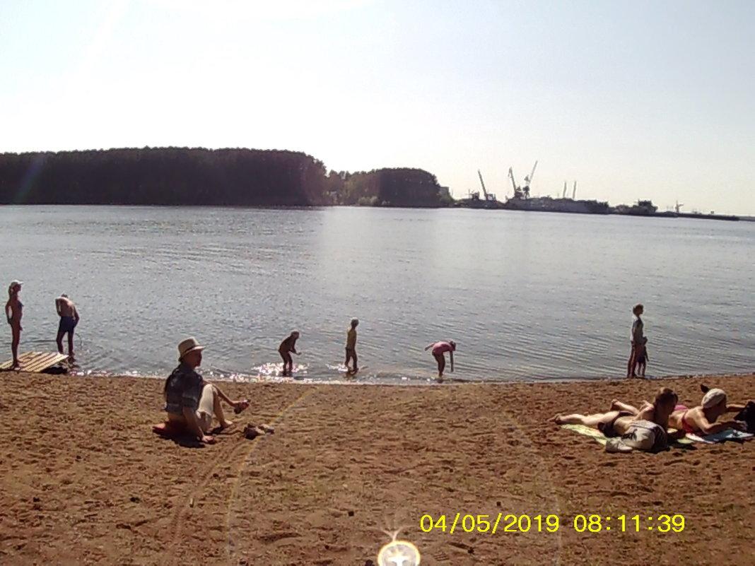 пляж - константин Чесноков