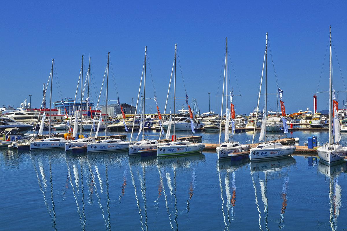 Яхты в порту - Александра Климина