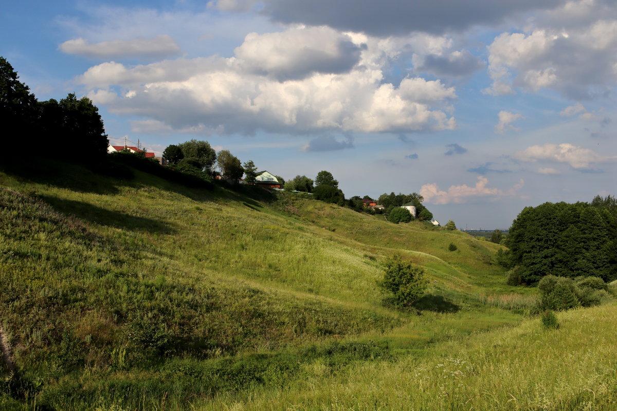Холмы и овраги Тимоновки - Евгений