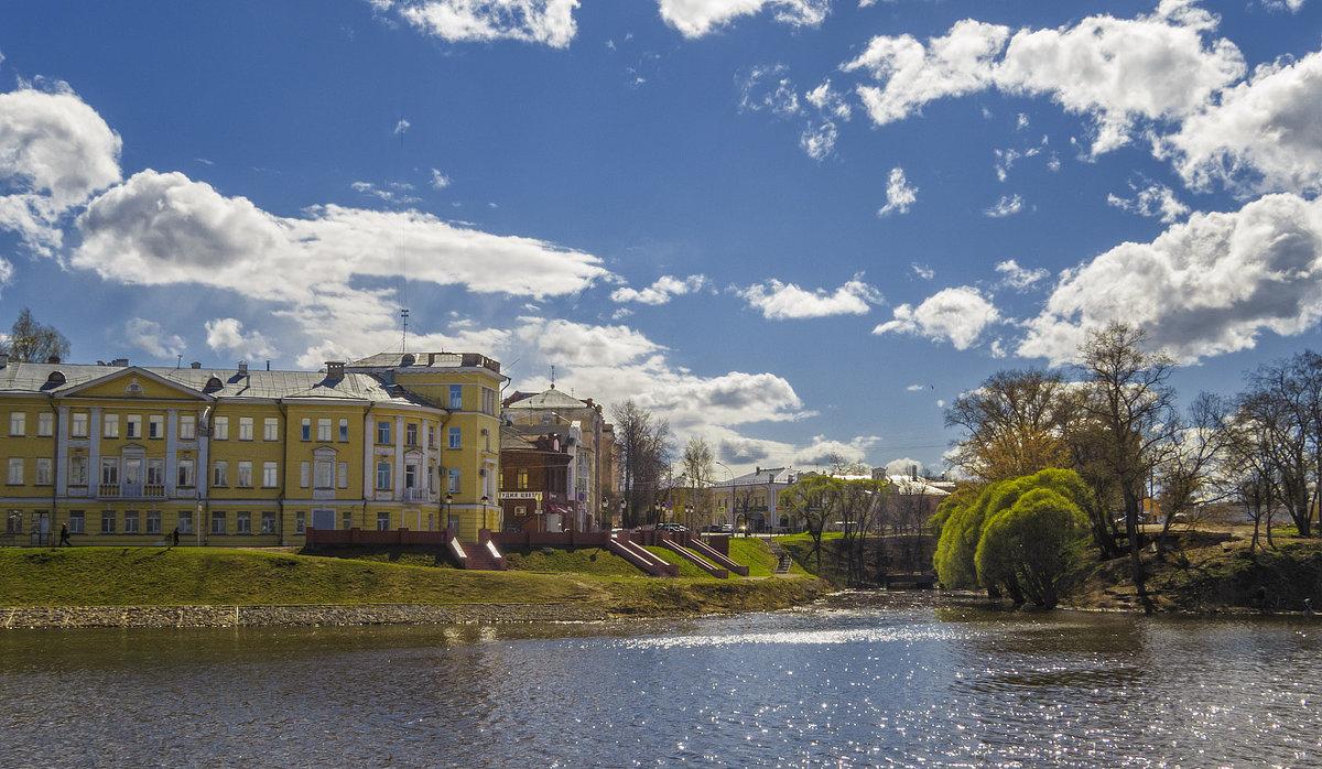 Вологодский пейзаж - Сергей Цветков