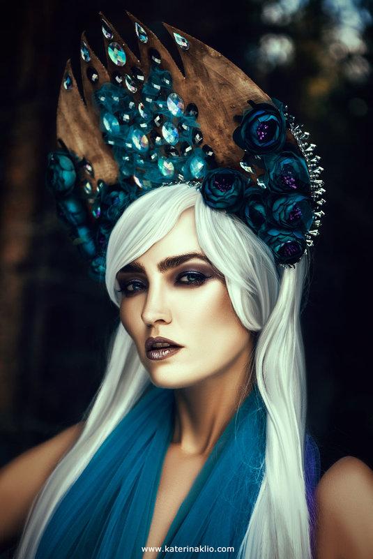 Фиолетовая лесная нимфа - Katerina Klio