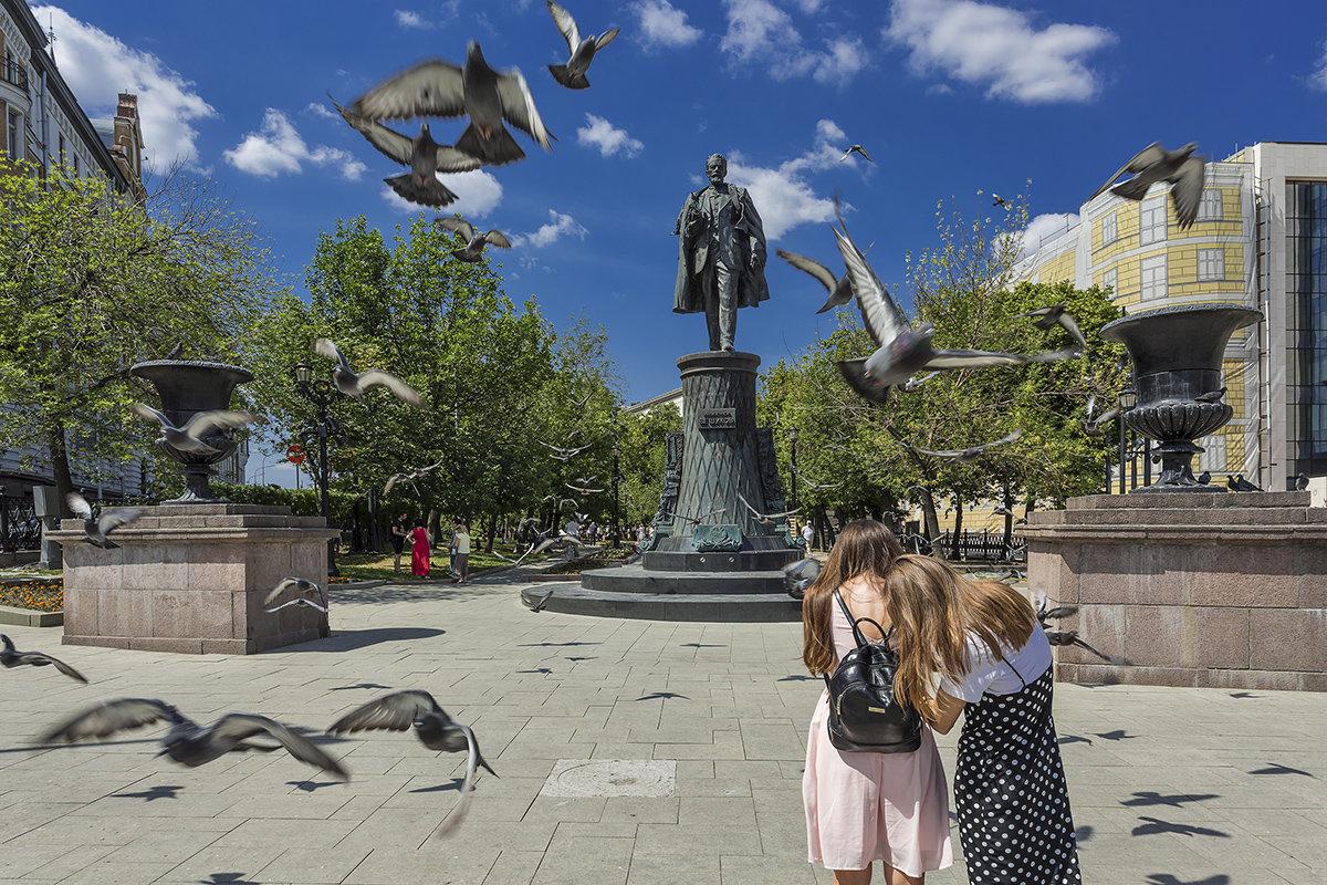 на Сретенском бульваре - Владимир Иванов