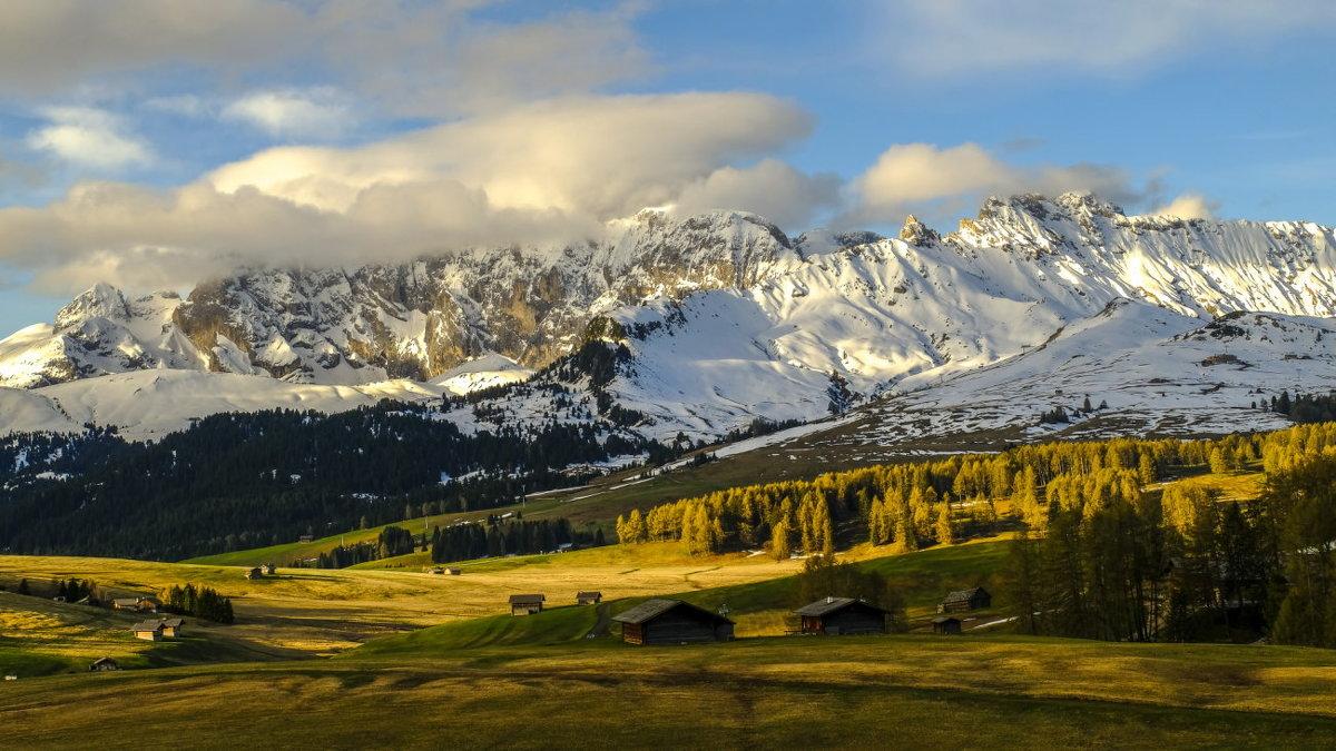 горы в Доломитах