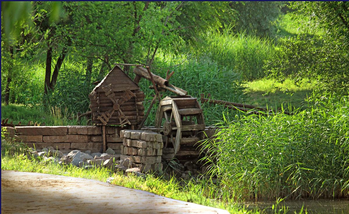 Старая мельница. - barsuk lesnoi