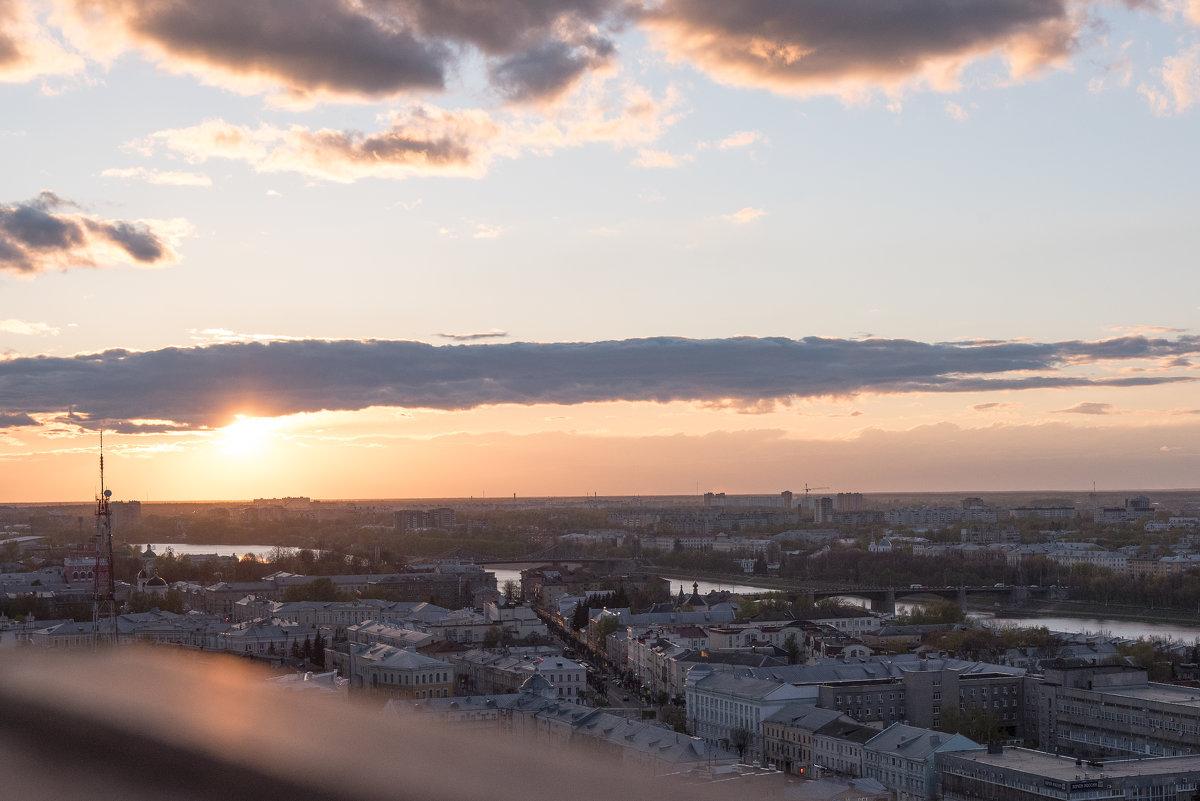 Закат над Тверью - helenly