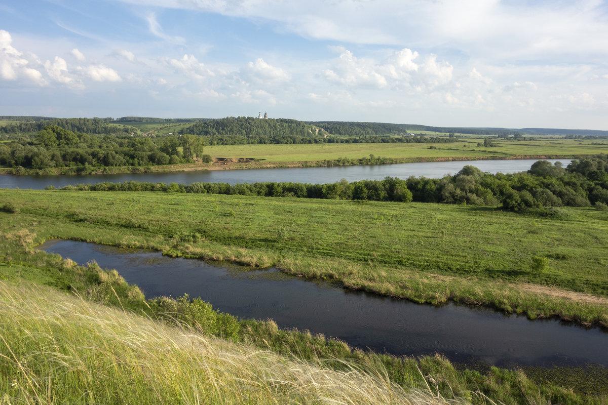 Река Сылва и старица - Алексей Сметкин
