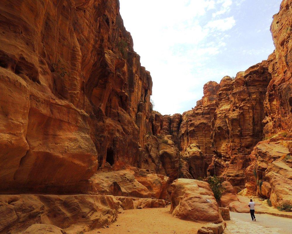 Ущелье Сик - восточный путь к Петре - Гала