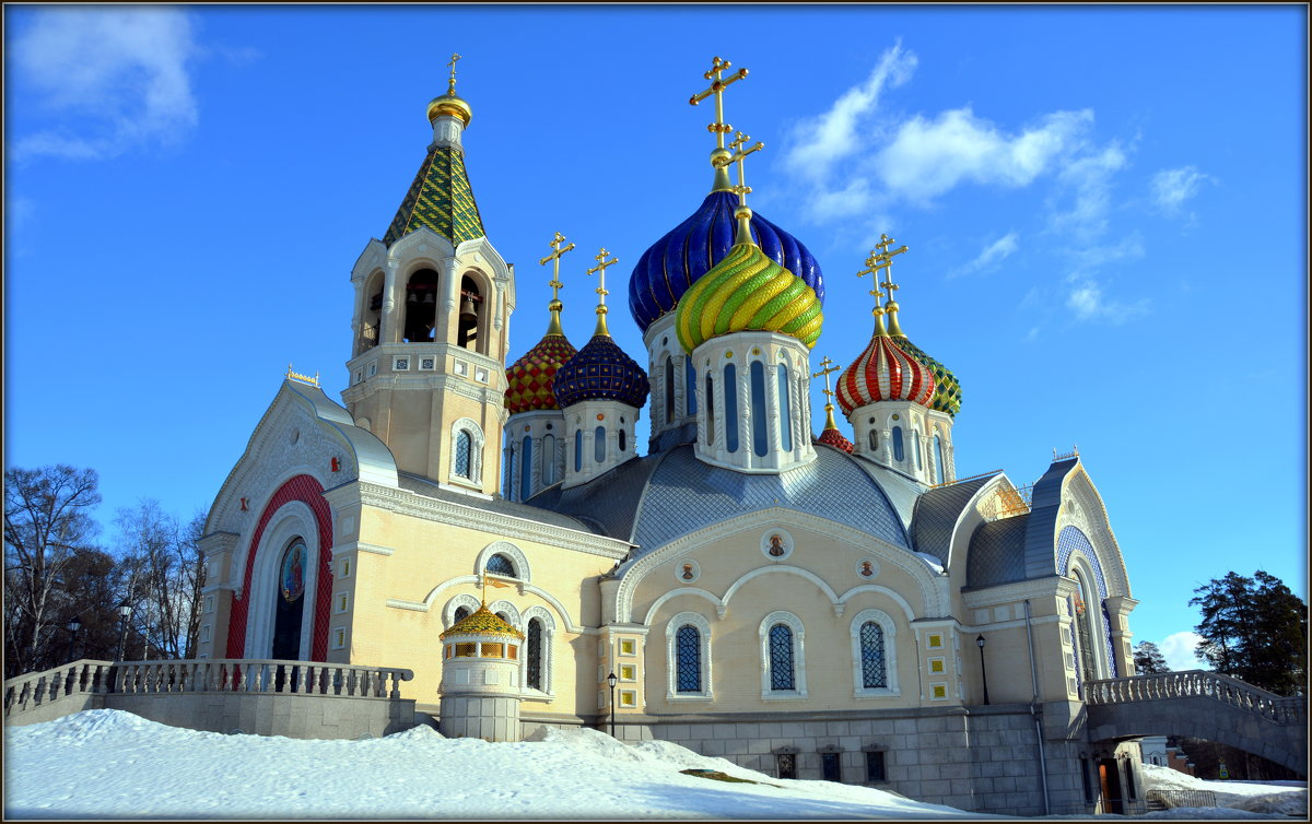 Москва. Храм святого князя Игоря Черниговского - Михаил