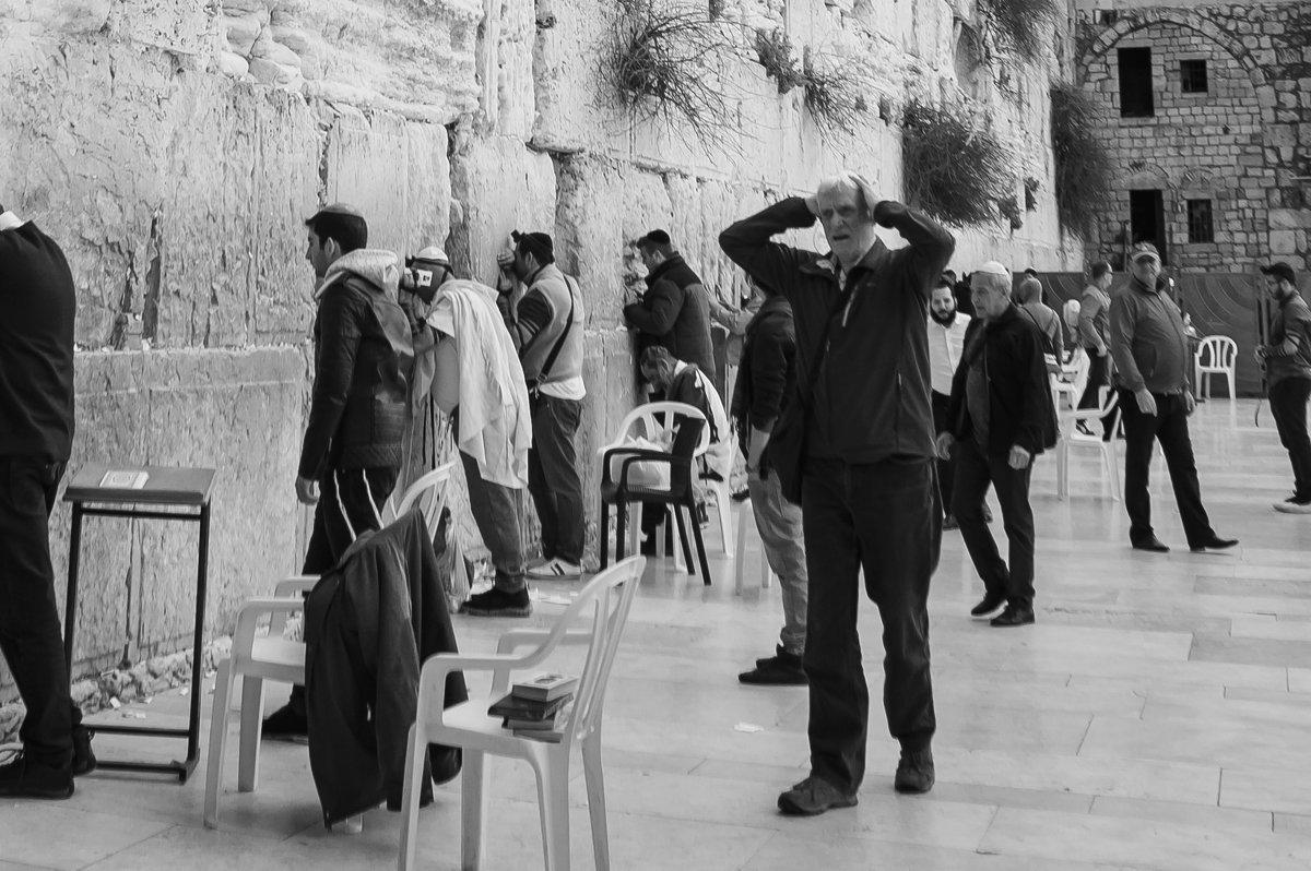 У стены плача. Иерусалим, Израиль. - pavel_d