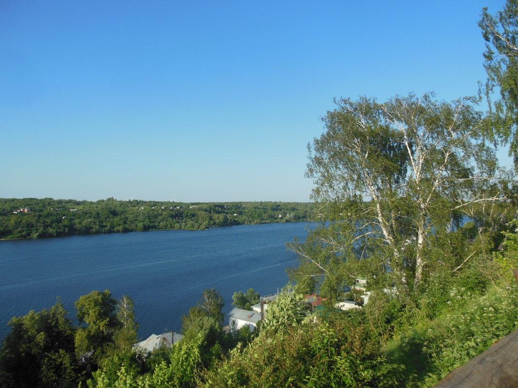 Река Волга в Плесе - Татьяна Гусева