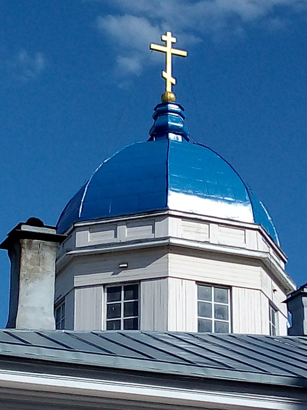 Купол Казачьей церкви. - Светлана Калмыкова