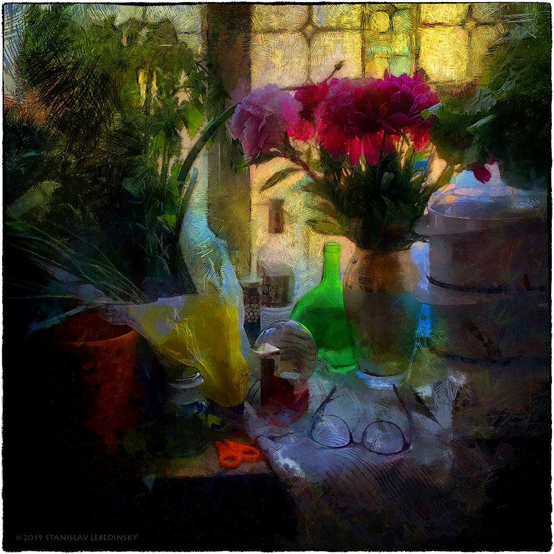 My magic Petersburg_03389_на кухне - Станислав Лебединский