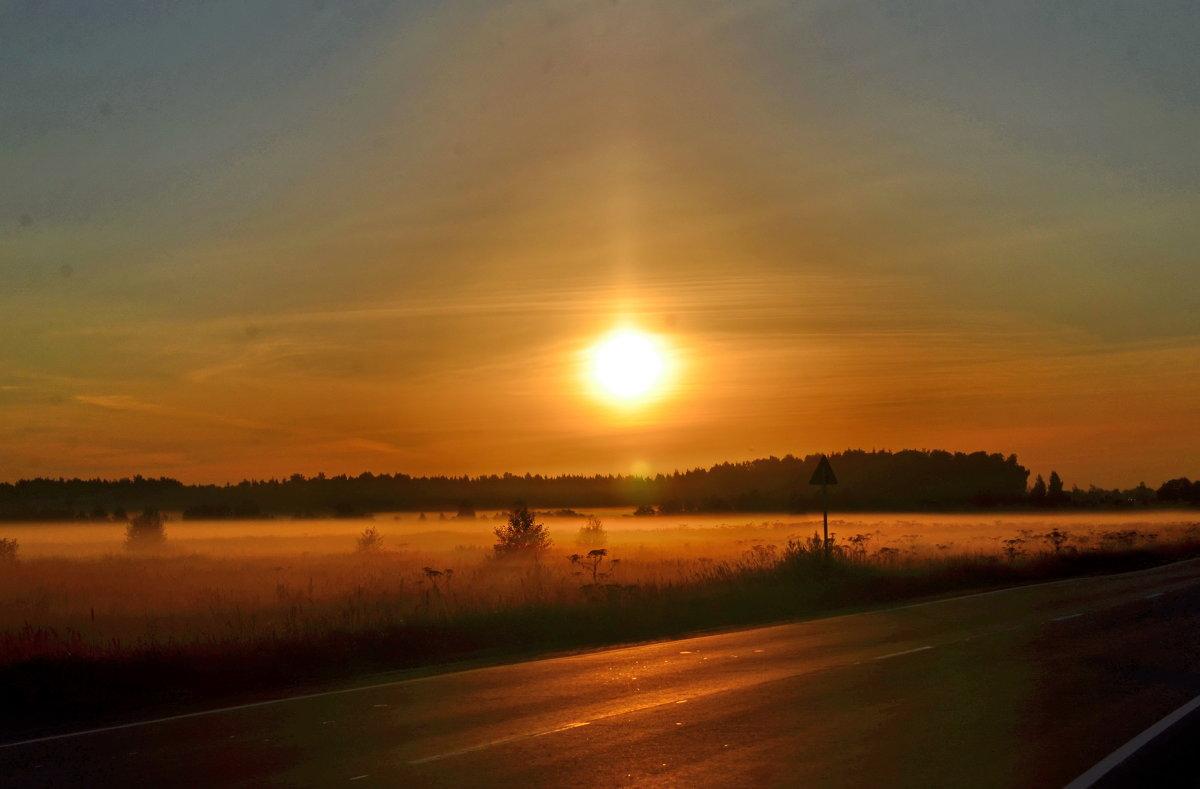 Рассвет. Туман - demyanikita
