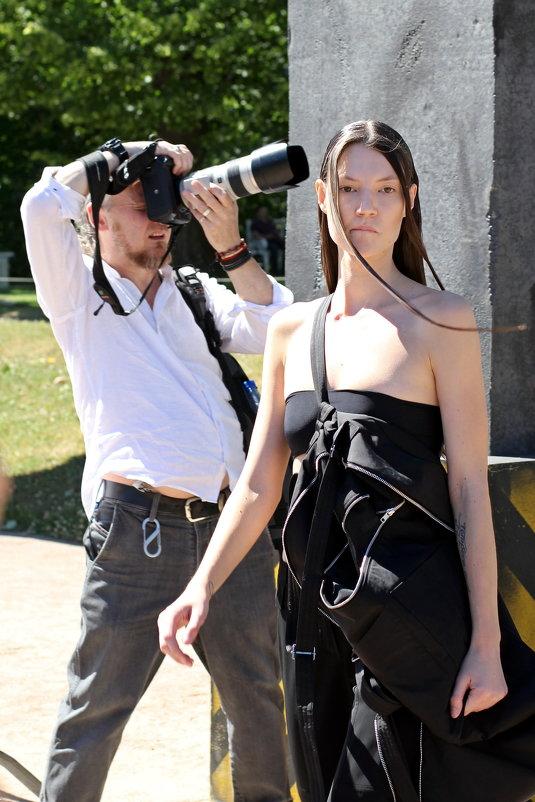 Фотограф и модель - Сергей