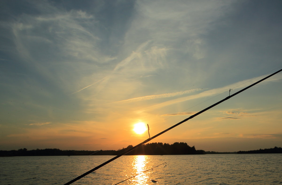 Озеро,рыбалка. - Павел
