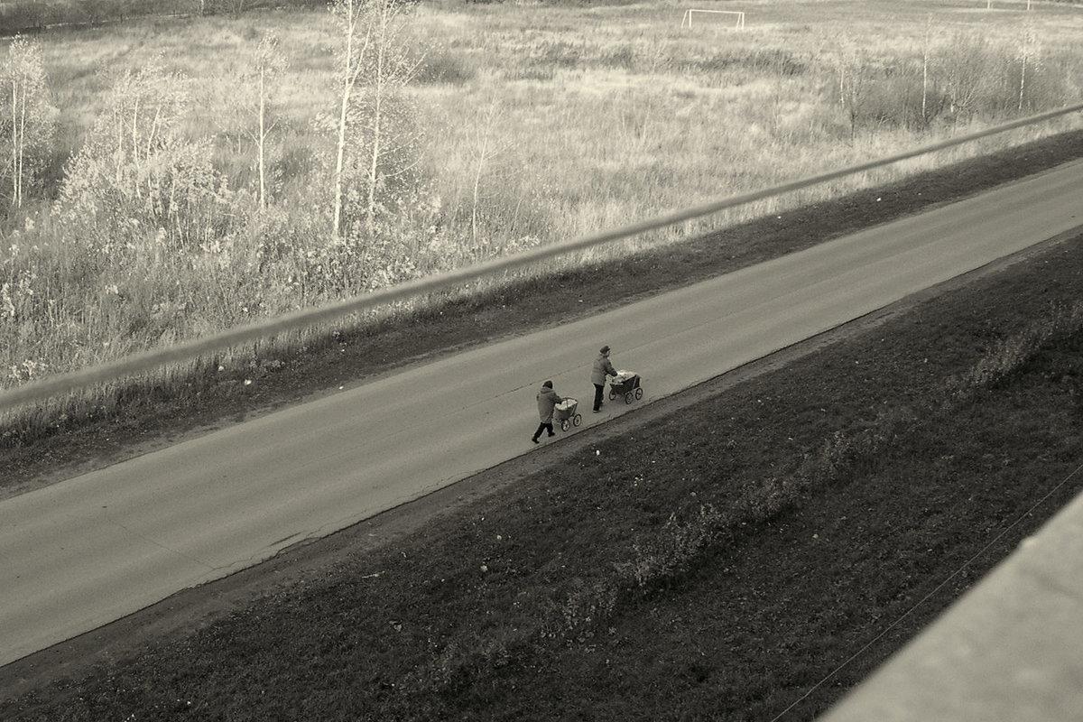 Осенний пейзаж - Елена Минина