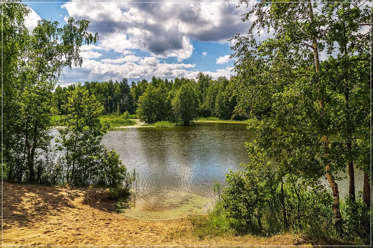 Озеро в лесу 4 - Андрей Дворников